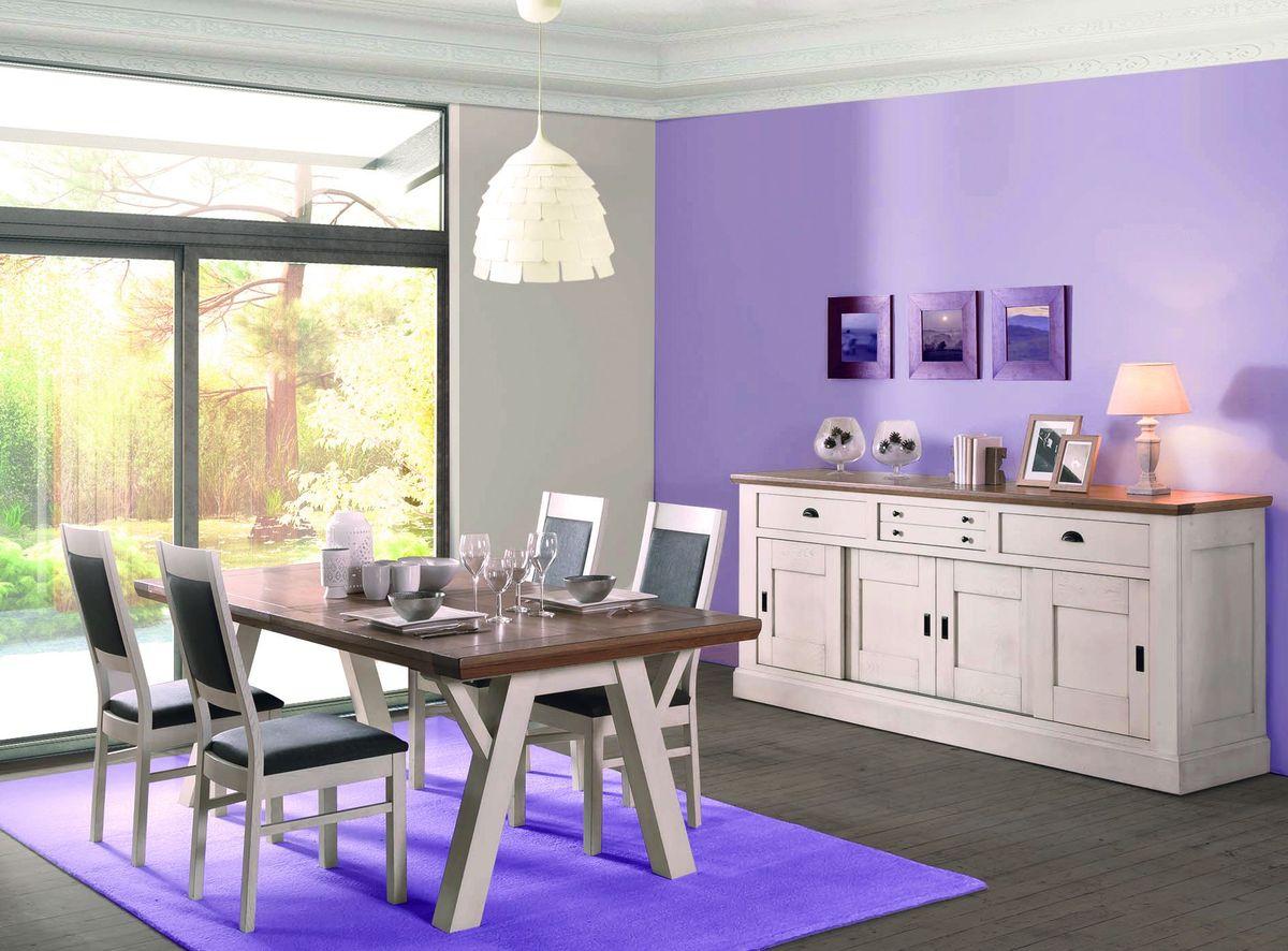 4 enfilade 4 portes 3 tiroirs st florentin. Black Bedroom Furniture Sets. Home Design Ideas
